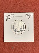 2020 S National Park Of American Samoa .999 Silver Proof Quarter Free Shipping