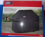 Weber Gas Grill Cover For Genesis 300 Bbq Series New In Box Model 7553 Premium