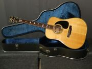 Made In Japan 1976 - Rider R500d - Absolutely Amazing D45 Style Acoustic Guitar