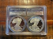 1986s1st Year Issue 2016w 30th Anniversary Silver Eagle Pcgs Pr69 Dcam 1 Of 750