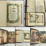 Vintage 1950 The Holy Bible Golden Book Edition Authorized King James Version