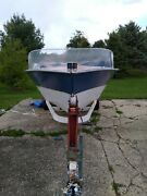 Antique 1963 Luger Kii Wooden Boat W/ 1962 Elgin 40hp Motor And Trailer