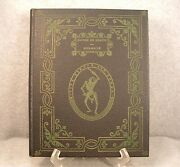 1947 Ltd. Ed. Hard Cover Book Dance Of Death And Bible Wood Cuts By Holbein