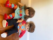 American Girl Doll Bitty Baby Twins Brown Hair Brown Eyes And Accessories