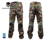 Emerson Gen3 Combat Pants Airsoft Military Tactical Bdu Trousers Woodland