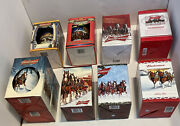 Lot Of 9 New In Box Budweiser Holiday Beer Steins Mugs 00032x070809101316