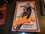 Evel Knieval Colorforms Adventure Playset Rare Vintage Set 1974 Mint In Box 596