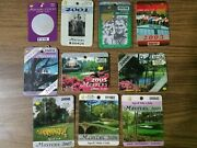 2000s Masters Badges Lot Of 10 2000 To 2009 Augusta National Golf Club