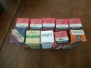 Lot Of 10 Nos Mixed Brands 12sn7 Gt Twin-triode Tubes Test Good/strong