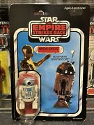 Rare Vintage Star Wars Palitoy R2-d2 Esb 45b Carded Action Figure Moc Reseal