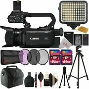 Canon Xa40 Professional Uhd 4k Camcorder With Filter Accessory Kit