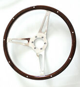 Moto-lita Ac Cobra 6 Bolt 15 Classic Replacement Steering Wheel Mustang Shelby