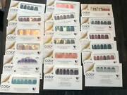 Color Street Nail Polish Strips Lot Retired Current Blue Lagoon Sleigh Game Opal