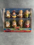 Fisher Price Little People Snow White And The Seven Dwarfs New/sealed Box