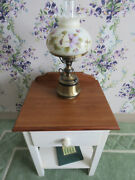 Ethan Allen Cottage White With Butterscotch Night Table Stand 16 5206
