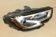 17-19 A3 S3 Head Light Headlight Hid Xenon Assembly Led Drl Oem Excellent Right