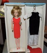 Vintage American Character Tressy Doll Original Dress Booklet Carry Case Key