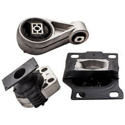 3x Engine Motor And Trans Mount For Ford Focus 2.0l 2.3l 2005 2006 2007 For Auto