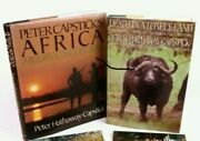 Signed By Peter Capstick African Big Game Hunting Long Grass Lonely Land Buffalo