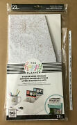 New Me And My Big Ideas The Happy Planner Neutral Florals Sticker Book Storage