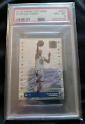 2019 Panini Stickers Stephen Curry Foil Psa 8 320