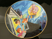 Peter Pan Plate Limited Disney Collectible Vintage 88 Of 24,750 Circa 1980s