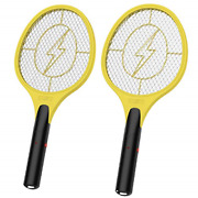 2 Pack Bug Zapper, Mosquito Killer Electric Fly Swatter, Indoor Outdoor Zapping