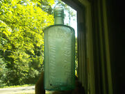 Gordon's Dry Gin Applied Lip Bottle Emb Wolf Head Shown Dug In Our Youtube Video