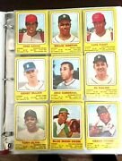 1969 Transogram Baseball Complete 60 Card Set Mays Mantle Rose And Other Stars