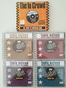6 X Northern Soul Cds In Crowd Tamla Motown Big Hits Hard To Find Complete Set
