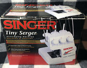 Singer Tiny Serger Ts380 Plus Overedging Sewing Machine With Box And Manual