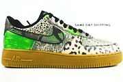 Nike Air Force 1 '07 Qs Mens Size 14 Shoes Ct8441 002 City Of Dreams Green