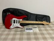 Schecter Bh-1-std 24 See-thru Red Bill With Lawrence Pickup