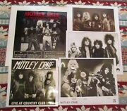 Motley Crue - Live At The Country Club In L.a.andnbsp 1982 Vinylandnbsp Excellent Condiition