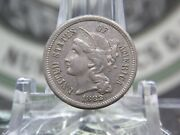 1882 Three Cent Nickel 3cn 1 East Coast Coin And Collectables, Inc.