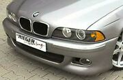 Bmw Genuine Rieger Oem E39 1997-2003 5 Series Sedan Or Touring Gtm Front Bumper