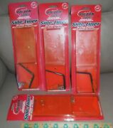 4x New Big Jon Side Liner In Line Planer Built In Rattles Free Shipping