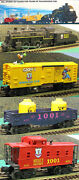 New Lionel Mickey Mouse 1991 World Tour 027 Train Set Vintage With A Free Car