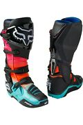 New 2021 Fox Racing Instinct Pyre Motocross Boots Us Size 9 Euro Size 43