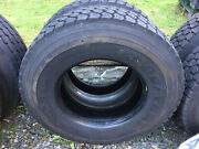2 Used Goodyear G622rsd Load H 12r 22.5 Commercial Truck Tires B
