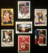 Lebron James🔥🔥 7 Card Topps/donruss Collectors Lot🔥🔥mint Condition🔥🔥free