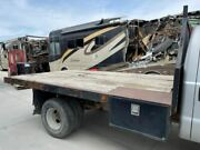 00 Ford F350 Super Duty Used 12' Dually Flat Bed Box W Wood Floor Type