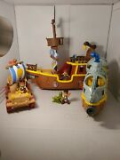 Jake And The Neverland Pirates Figures Disney + More Lot Of 9
