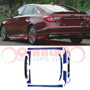11pcs Abs Lacquer Car Body Kits Trims Facelift For Honda Accord 10th 2018-2020