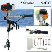 2-stroke 3 Hp Boat Engine Outboard Motor Inflatable With Cdi Ignition System52cc
