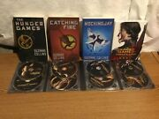 The Hunger Games Complete Dvd Movie Set And 3 Novel Book Set Per Movie Nmnt