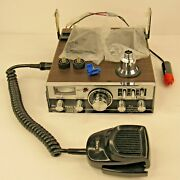 Vintage Sears 23 Channel Cb Radio Citizen Band Tested No Damage With Bracket