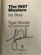 Tiger Woods Signed Book Andldquo1997 Masters My Storyandrdquo With Proof-original Receipt