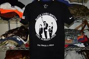 Nike Black Lives Matter Tommie Smith John Carlos Usa Track And Field T Shirt Small