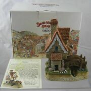 David Winter Cottages Cedar Span D1179 New Boxed And Certificate Guild 2002